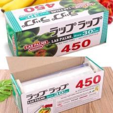 Màng Bọc Thực Phẩm ,Màng bọc đồ ăn tiện dụng Las Pamls Công Nghệ Nhật Bản ( Size 30cm x 450 Vòng )