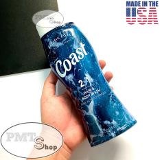 [USA] Dầu tắm gội nam 2in1 Coast Hair & Body Wash Classic Scent 532ml Pacific Force – Mỹ