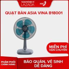 Quạt bàn ASIA VINA B18001 (xám)