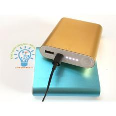 Box Sạc Dự Phòng 4 Cell 2A 18650 Xiaomi Vỏ Nhôm Cao Cấp Tặng cáp sạc zin cao cấp ( Không gồm pin) – Màu Sắc tự chọn