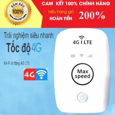 Router Wi-fi di động Max Speed 4G LTE nhập khẩu- Bộ phát sóng wi fi tốc độ đỉnh cao từ sim 3G 4G
