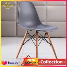 Ghế EAMES nhựa chân gỗ cao cấp loại 1 , ghế cafe vintage , ghế decor phòng , ghế bàn trà ngoài hiên