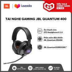 Tai nghe Gaming JBL Quantum 400 l Âm thanh vòm DTS Headphone:X 2.0 l Công nghệ QuantumSOUND Signature l Phần mềm điều khiển JBL QuantumENGINE l HÀNG CHÍNH HÃNG