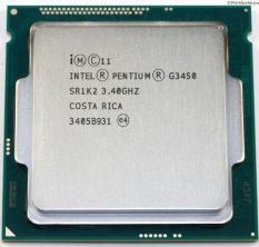 CPU Intel Pentium G3450 (3.40GHz, 3M, 2 Cores 2 Threads) – Cũ