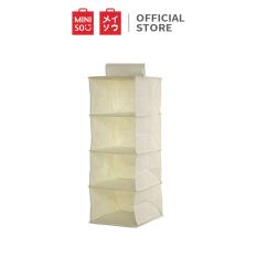 Túi vải treo đựng đồ Miniso 4 ngăn – Hàng chính hãng