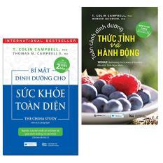 Combo 2 Cuốn sách dinh dưỡng hay: Bí mật dinh dưỡng cho sức khỏe toàn diện ( Tái bản lần 2 ) + Toàn cảnh dinh dưỡng thức tỉnh và hành động