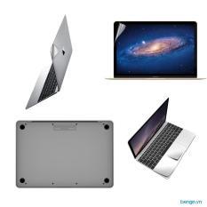 "Bộ dán Full JCPAL MacGuard 5 in 1 cho New Macbook 12"""