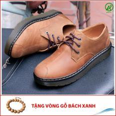 Giày boot da sáp cổ thấp khâu mũi-BL539(GB) – Giày Lười Nam AROTI