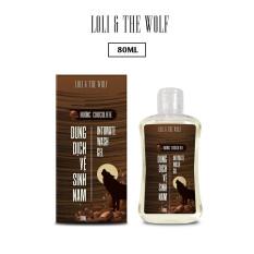 Dung dịch vệ sinh nam giới hương Chocolate lành tính, dịu nhẹ, thiên nhiên chai 80ml nhỏ gọn – LOLI & THE WOLF