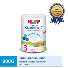 Sữa bột DD HiPP 3 Growing-Up Combiotic 800g