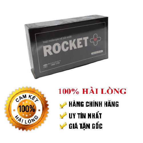 Dưỡng thận hàng ngày Rocket tăng cường sinh lý nam, tăng testosterol, giảm tiểu đêm, đau lưng, mỏi gối-Hộp 45 viên nang Rocket, dùng được 1 tháng[CHE TÊN KHI GIAO HÀNG] An toàn, không tác dụng phụ