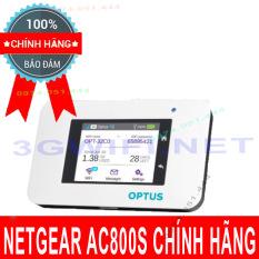 Bộ phát Wifi 4G Netgear AC800S – Cục phát wifi Netgear đạt tốc độ 450Mbps