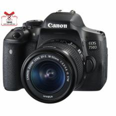 [voucher 9%]Máy ảnh Canon EOS 750D KIT EF-S18-55mm F/3.5-5.6 IS STM – Chính Hãng Lê Bảo Minh