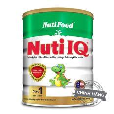 Sữa Bột Nutifood Nuti IQ Step 1 – Hộp 900g (Cho trẻ từ 0-6 tháng tuổi) – HSD luôn mới