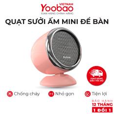 Quạt sưởi ấm mini để bàn Yoobao W1 Công suất 600W Dòng điện 220V – Hàng phân phối chính hãng – Bảo hành 12 tháng 1 đổi 1