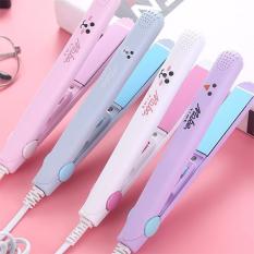 Máy duỗi tóc, uốn tóc, là tóc, ép tóc, kẹp tóc mini cầm tay tiện lợi, máy chăm sóc tóc, tạo kiểu tóc nhỏ gọn dễ sử dụng