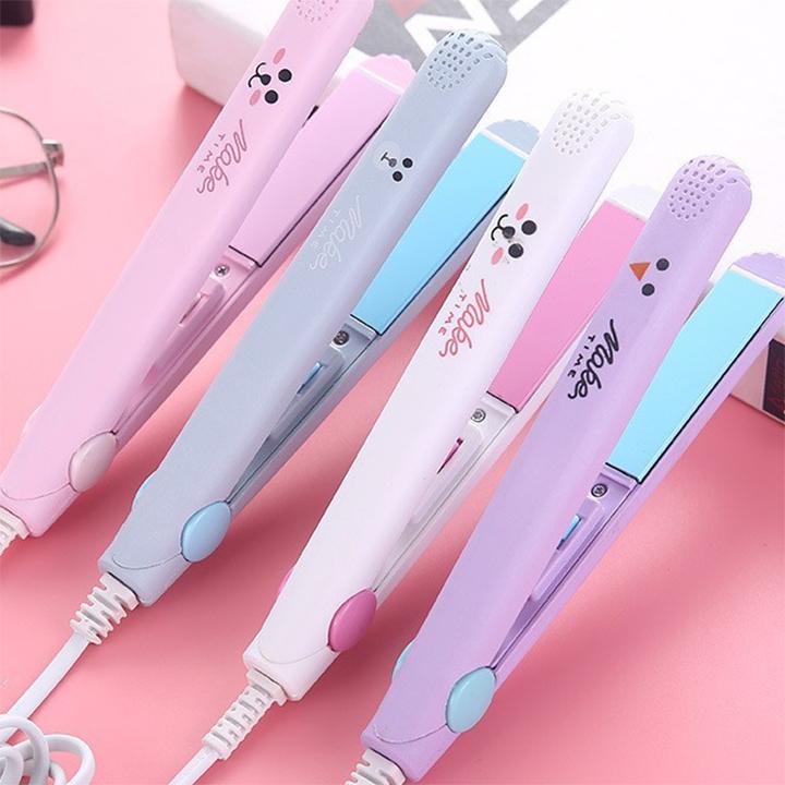 [HCM]Máy duỗi tóc uốn tóc là tóc ép tóc kẹp tóc mini cầm tay tiện lợi máy chăm sóc tóc...