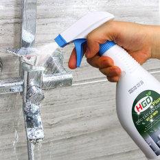 Siêu tẩy cặn canxi nhà tắm HGO Plus tẩy sạch vòi inox, vách kính, bồn sứ, gạch men. Chai 500ml