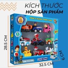 Bộ đồ chơi biệt đội chó cứu hộ Paw Pa.trol và những người bạn mẫu xe đồ chơi chạy trớn nhiều nhân vật cho bé (nhiều mẫu) – Thị trấn đồ chơi