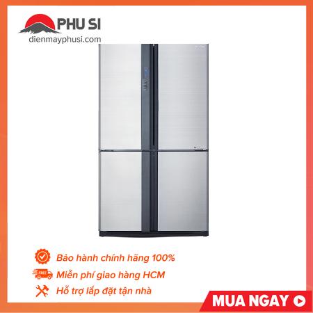 Tủ lạnh Sharp SJ-FX631V-SL, 626L, Inverter
