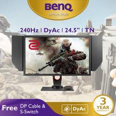 Màn hình máy tính BenQ ZOWIE XL2546 240Hz 24.5 inch DyAc™ chuyên eSports Gaming FPS (CSGO, PUBG, …)