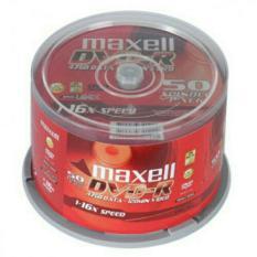 Hộp 50 đĩa DVD trắng Maxell hộp nguyên seal, cam kết sản phẩm đúng mô tả, chất lượng đảm bảo