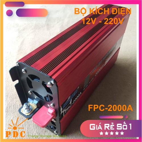 Bộ Kích Điện Inverter 12V lên 220V Sin Chuẩn 2000VA FPC-2000A
