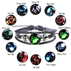 Vòng tay nam nữ 12 chòm sao , Vòng tay nam nữ đẹp , Vòng tay nam nữ giá rẻ , Vòng thời trang nam nữ , Vòng cung hoàng đạo,Vòng tay Unisex
