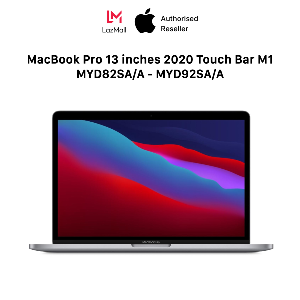 [TẶNG MICROSOFT 365 1 NĂM] MacBook Pro 13 inches Touch Bar M1 Chipset (8GB/16GB – 256GB/512GB) – 100% New (Not Activated, Not Used) – 12 Months Warranty At Apple Service – 0% Installment Payment via Credit card