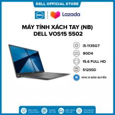 [TRẢ GÓP 0%_FREESHIP]Laptop DELL VOS15 5502 i5-1135G7 | Ram 8GD4 | 512G SSD | 15.6FHD | Win 10 Bản Quyền/BẠC/(1XGR11)