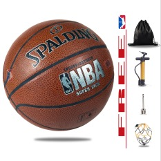 Banh Bóng Rổ Da Spalding – Size7 – Bản outdoor- Tặng kèm bơm + Balo rút + Kim bơm + Túi lưới