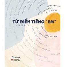 """Sách Từ Điển Tiếng """"Em"""" – Newshop"""