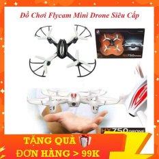 Đồ Chơi Flycam Mini KINGPOWER Mô Hình 4 Cánh, Ánh Sáng Lấp Lánh, Tạo Sự Vui Nhộn Cho Bé, Nhào Lộn 360 Độ