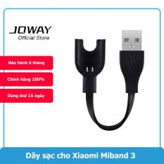 Dây Cáp Sạc Thay Thế Cho Vòng Đeo Tay Thông Minh Xiaomi Mi Band 3 Joway QW3 Hàng Chính Hãng