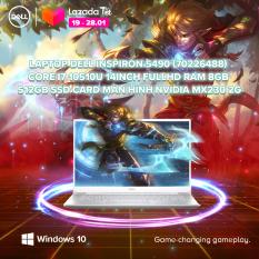 [TRẢ GÓP 0%_FREESHIP]Laptop Dell Inspiron 5490 (70226488) Core i7 10510U 14inch FullHD Ram 8GB 512GB SSD Card Màn Hình NVIDIA MX230 2G Win 10 Bản Quyền Silver