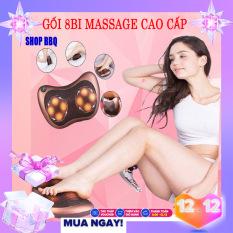 [CỰC SỐC – GIÁ SỈ] Gối Massage 8 Bi Hàn Quốc – Kiểu Dáng Sang Trọng – Giúp Bạn Xoa Tan Mệt Mỏi STREES- Bạn Có Thể Sử Dụng Dễ Dàng Ở Nhà Hoặc Trên Xe – Đem Lại Cho Bạn Cảm Giác Thỏa Mãi Dễ Chịu Sau Một Ngày Làm Việc Vất Vả.