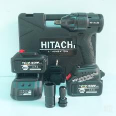 Máy siết bulong Hitachi 88v 2 pin Kèm đầu chuyển vít và đầu khẩu 22 – chỉ cần 1 bộ dụng cụ, siết mở mọi thứ siêu dễ dàng