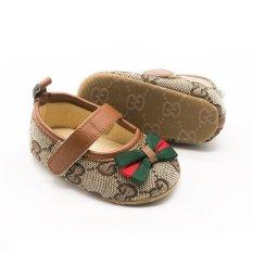 Giày bún tập đi cho bé – Giầy trẻ em từ 0 đến 18 tháng tuổi
