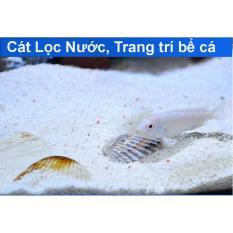 Cát Thạch Anh vật liệu lọc, trang trí bể cá, hồ thủy sinh (túi 200gr)