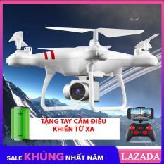 [Flash Sale] Bộ Đủ Camera – Máy Bay Flycam KY101, Camera 2.0Mpa, HD 720P Truyền Trực Tiếp Về Điện Thoại, Có Chế Độ Tự Về Bằng 1 Nút Bấm Trên Tay Điều Khiển