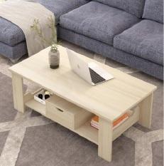 Bàn trà sofa bằng gỗ kiểu dáng đơn giản tiện dụng nhiều kích thước J0507