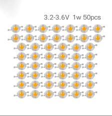 Combo 50 Chíp Led Luxeon 1W Ánh sáng Vàng Nắng
