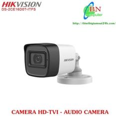 Camera Quan Sát HD-TVI Hikvision DS-2CE 16D0T-ITFS 2.0MP Có Audio Camera