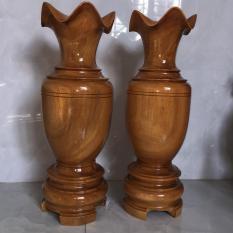 Lục bình gỗ mít cao 60 đường kính 20