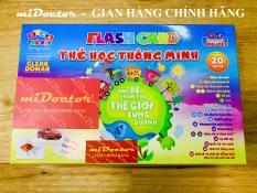 Thẻ Học Flash Card Học Tiếng Anh Cho Bé – Học Liệu Glenn Doman – Hãng miDoctor