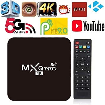 Đầu TV Box MXQ Pro 2020 RAM 1G bộ nhớ 8G xem truyền hình miễn phí