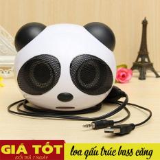 Loa nghe nhạc xem phim dùng cho máy máy tính và điên thoại kết nối cổng jack 3.5 gấu trúc Panda – Loa Máy Tính Âm Bass Cực Đỉnh Cho Âm Thanh Sống Động