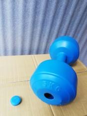 Vỏ tạ tay nhựa 5kg phucthanhsport (1 cái)