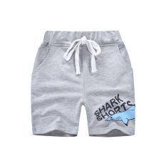 Quần thun bé trai BE TOP, quần short cho bé họa tiết in cá mập