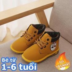 [SIÊU RẺ] Giày boot cổ cao đế kếp cho bé trai – giày dép trẻ em đẹp – giá rẻ (Ảnh shop tự chụp)